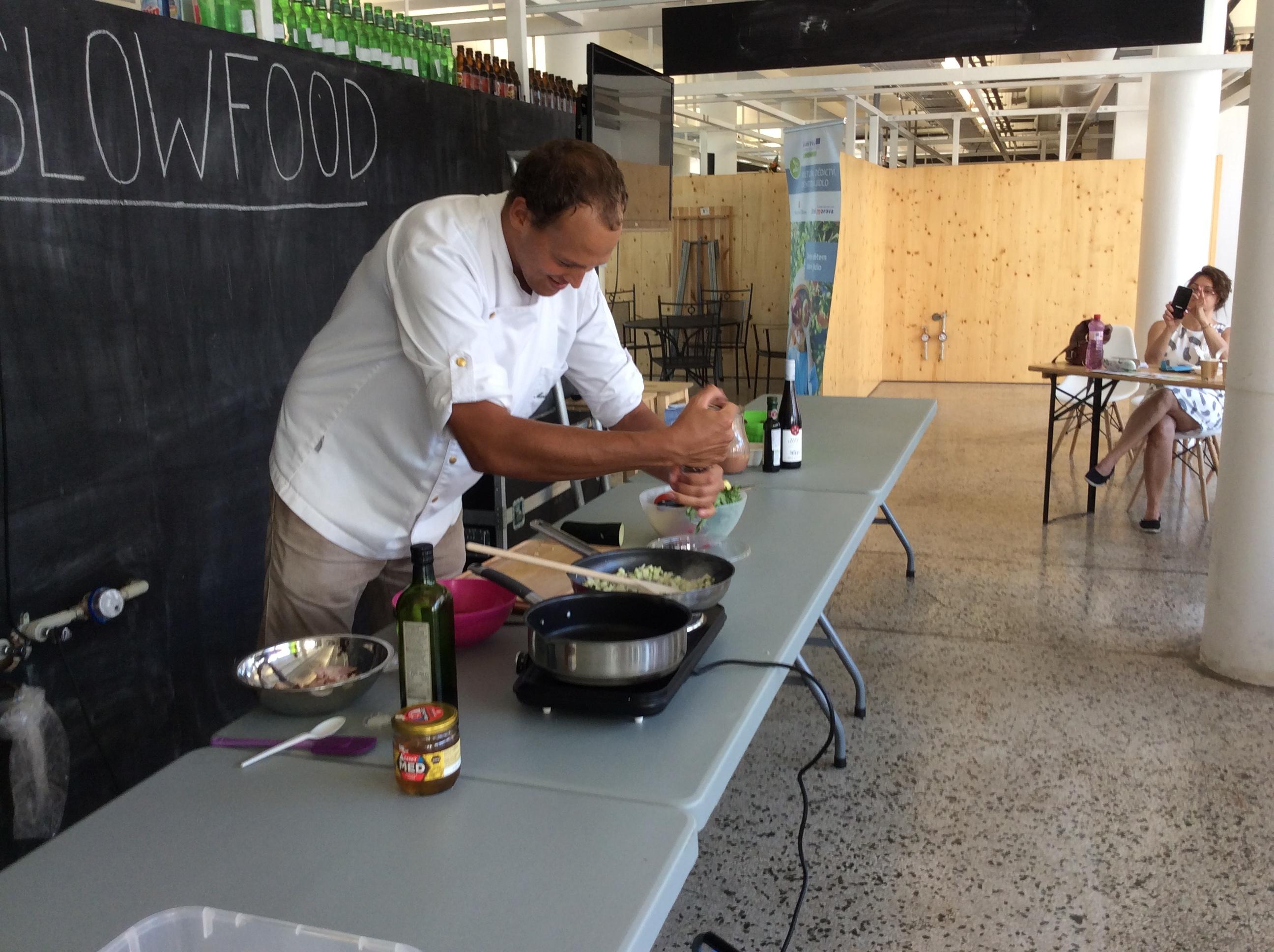Reportáž ze Slow food festival 18.-20.7.2019